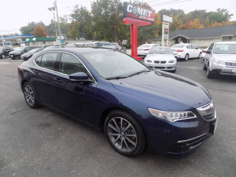 2017 Acura TLX for sale at Comet Auto Sales in Manchester NH