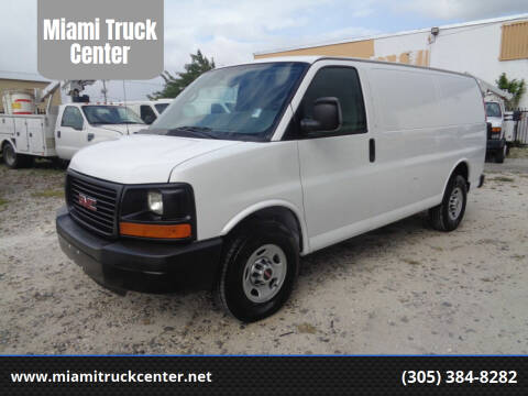 2015 Chevrolet Express Cargo for sale at Miami Truck Center in Hialeah FL