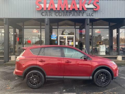 2018 Toyota RAV4 for sale at Siamak's Car Company llc in Salem OR