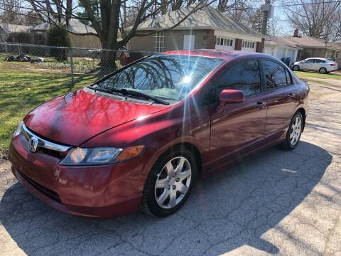 2006 Honda Civic for sale at JE Auto Sales LLC in Indianapolis IN
