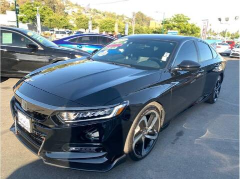 2020 Honda Accord for sale at AutoDeals in Hayward CA