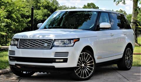 2015 Land Rover Range Rover for sale at Texas Auto Corporation in Houston TX