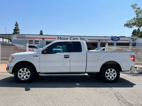 2013 Ford F-150 for sale at MOTOR CARS INC in Tulare CA