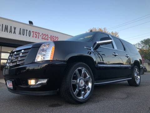 2010 Cadillac Escalade ESV for sale at Trimax Auto Group in Norfolk VA