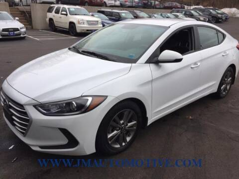 2018 Hyundai Elantra for sale at J & M Automotive in Naugatuck CT