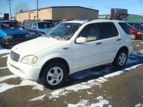 2003 Mercedes-Benz M-Class for sale at Bob Fox Auto Sales in Port Huron MI