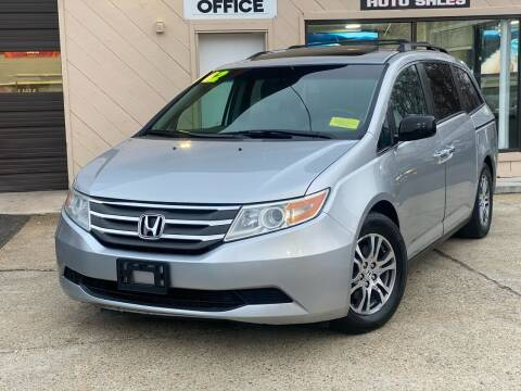 2012 Honda Odyssey for sale at Eagle Auto Sales LLC in Holbrook MA