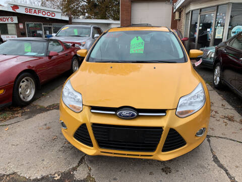 2012 Ford Focus for sale at Frank's Garage in Linden NJ