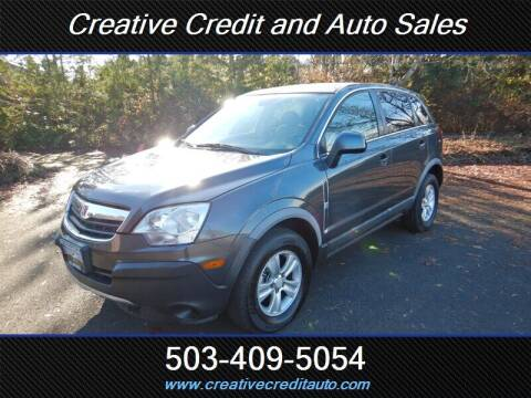 2010 Saturn Vue for sale at Creative Credit & Auto Sales in Salem OR