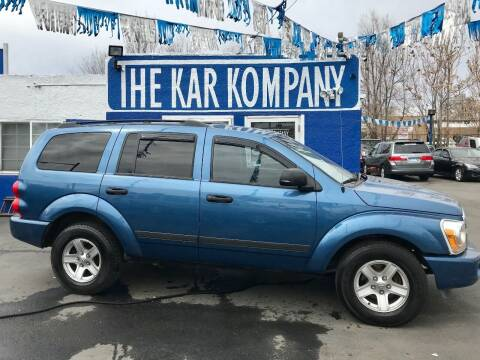 2006 Dodge Durango for sale at The Kar Kompany Inc. in Denver CO