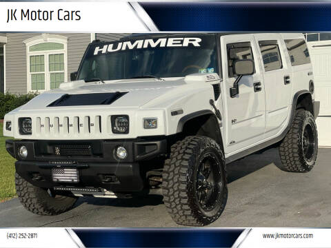 2005 HUMMER H2 for sale at JK Motor Cars in Pittsburgh PA