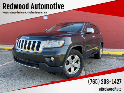 2011 Jeep Grand Cherokee for sale at Redwood Automotive in Anderson IN