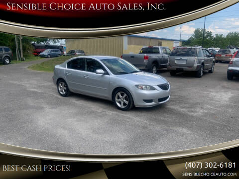 2006 Mazda MAZDA3 for sale at Sensible Choice Auto Sales, Inc. in Longwood FL