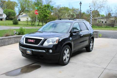 2012 GMC Acadia for sale at Great Lakes Classic Cars & Detail Shop in Hilton NY