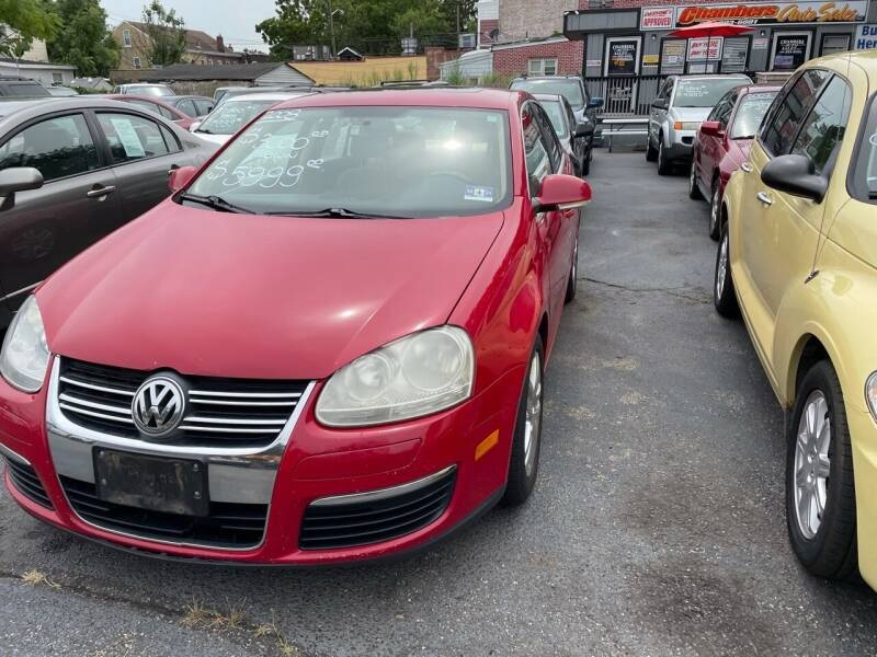 2008 Volkswagen Jetta for sale at Chambers Auto Sales LLC in Trenton NJ