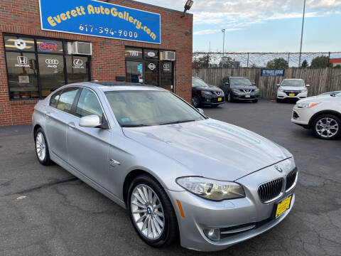 2011 BMW 5 Series for sale at Everett Auto Gallery in Everett MA