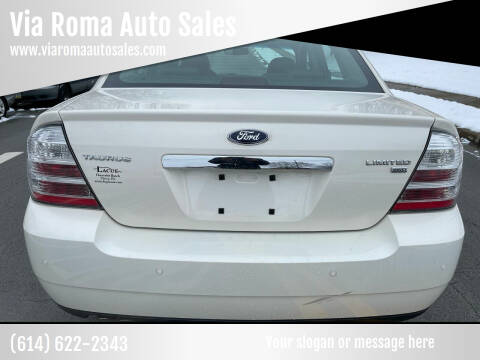 2009 Ford Taurus for sale at Via Roma Auto Sales in Columbus OH