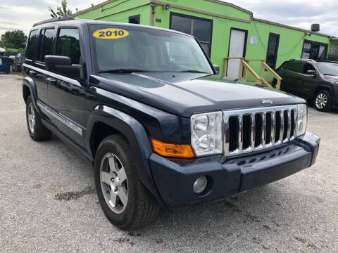 2010 Jeep Commander for sale at Marvin Motors in Kissimmee FL