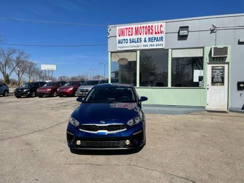 2019 Kia Forte for sale at United Motors LLC in Saint Francis WI