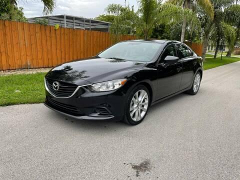 2015 Mazda MAZDA6 for sale at Venmotors Hollywood in Hollywood FL