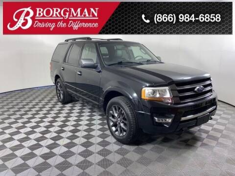 2017 Ford Expedition for sale at BORGMAN OF HOLLAND LLC in Holland MI