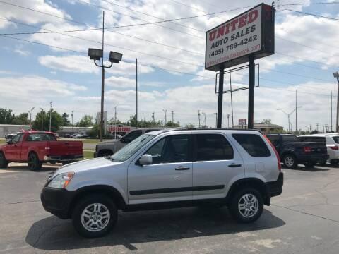 2002 Honda CR-V for sale at United Auto Sales in Oklahoma City OK