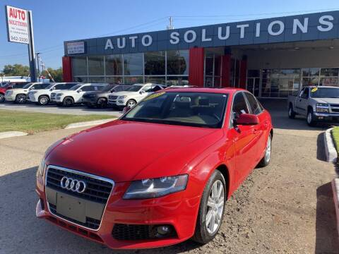 2010 Audi A4 for sale at Auto Solutions in Warr Acres OK