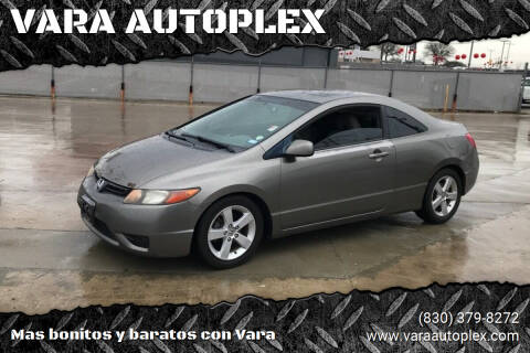 2006 Honda Civic for sale at VARA AUTOPLEX in Seguin TX