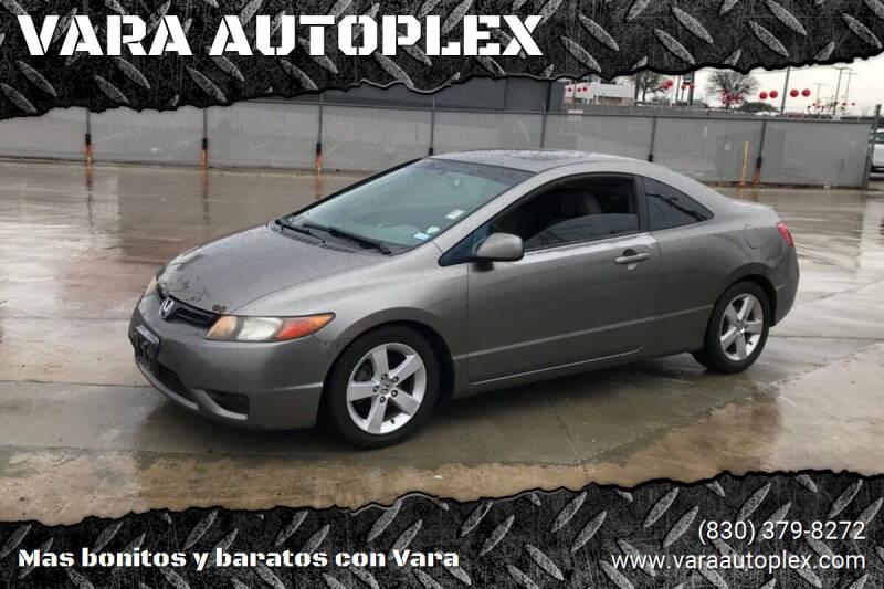 2006 Honda Civic for sale at VARA AUTOPLEX in Seguin TX