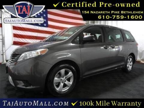 2014 Toyota Sienna for sale at Taj Auto Mall in Bethlehem PA