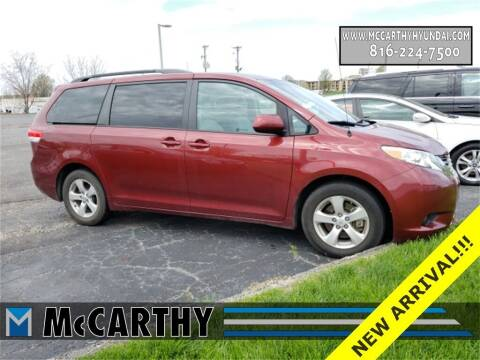 2013 Toyota Sienna for sale at Mr. KC Cars - McCarthy Hyundai in Blue Springs MO