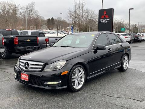 2013 Mercedes-Benz C-Class for sale at Midstate Auto Group in Auburn MA