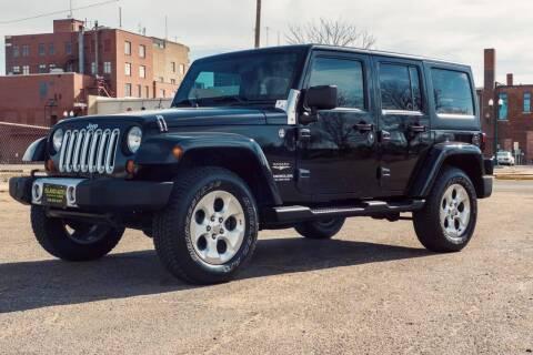 2012 Jeep Wrangler Unlimited for sale at Island Auto Off-Road & Sport in Grand Island NE