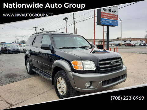 2003 Toyota Sequoia for sale at Nationwide Auto Group in Melrose Park IL