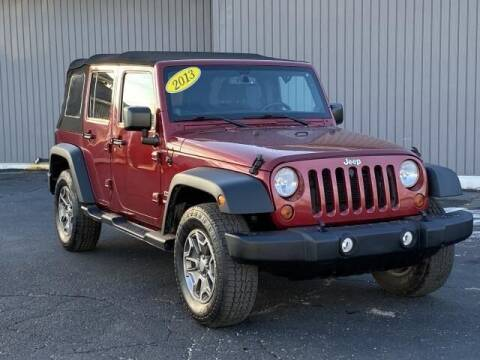2013 Jeep Wrangler Unlimited for sale at Bankruptcy Auto Loans Now - powered by Semaj in Brighton MI
