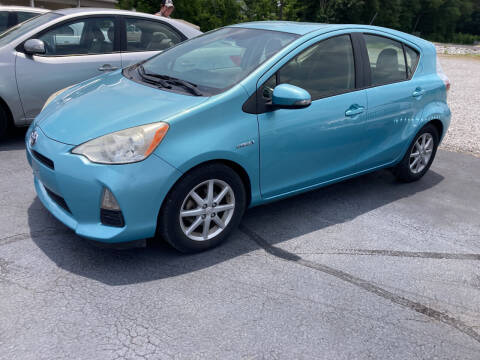 2012 Toyota Prius c for sale at McCully's Automotive - Under $10,000 in Benton KY