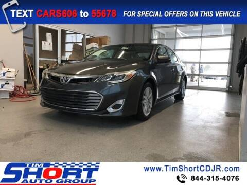 2015 Toyota Avalon for sale at Tim Short Chrysler in Morehead KY