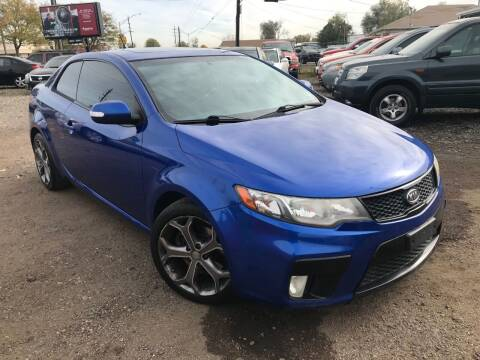 2010 Kia Forte Koup for sale at 3-B Auto Sales in Aurora CO