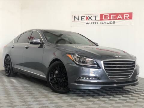 2016 Hyundai Genesis for sale at Next Gear Auto Sales in Westfield IN