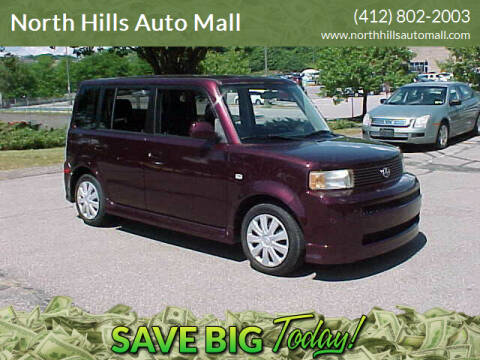 2005 Scion xB for sale at North Hills Auto Mall in Pittsburgh PA