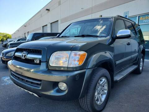 2007 Toyota Sequoia for sale at M & M Auto Brokers in Chantilly VA