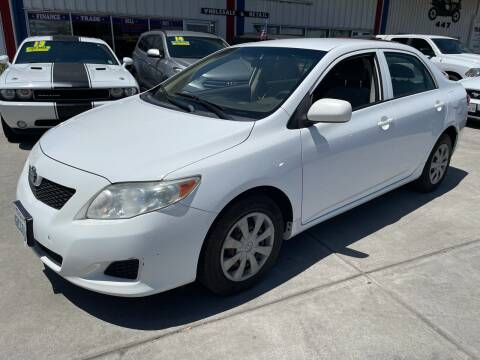 2010 Toyota Corolla for sale at Ideal Car Sales in Los Banos CA