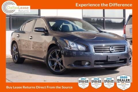 2013 Nissan Maxima for sale at Dallas Auto Finance in Dallas TX