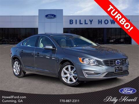 2016 Volvo S60 for sale at BILLY HOWELL FORD LINCOLN in Cumming GA