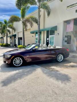 2009 BMW 3 Series for sale at AUTOSPORT MOTORS in Lake Park FL