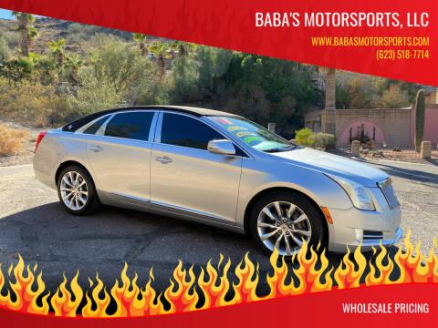 2013 Cadillac XTS for sale at Baba's Motorsports, LLC in Phoenix AZ