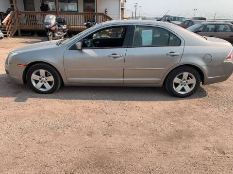 2009 Ford Fusion for sale at PYRAMID MOTORS - Fountain Lot in Fountain CO