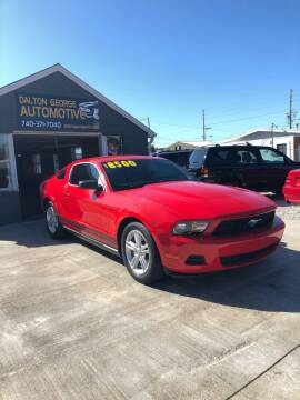 2012 Ford Mustang for sale at Dalton George Automotive in Marietta OH