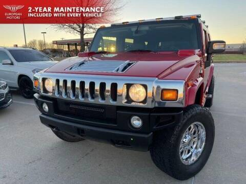 2007 HUMMER H2 for sale at European Motors Inc in Plano TX