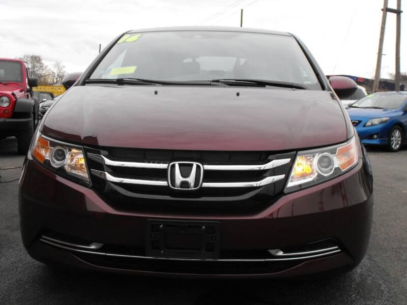 2016 Honda Odyssey for sale at Merrimack Motors in Lawrence MA